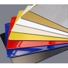 material de alta calidad de la construcción que incinera el panel compuesto de aluminio de ACP