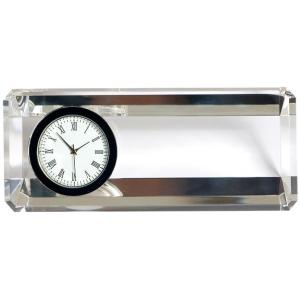 k9 Crystal Glass table clock