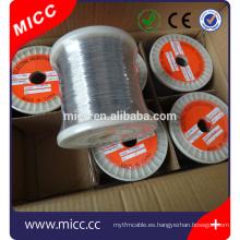 Micrófono de níquel MICC brillante 8020 de 0,5 mm