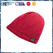 Nuevo sombrero de punto de encargo del embalaje fuerte que viene del fabricante
