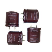 Snap in Aluminum Electrolytic Capacitor 105c Tmce18-8