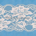 Lake Blue Flora Lace Fabric 100% Polyester