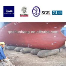 CCS certificado pontoon de goma marina de alta presión para la plataforma flotante