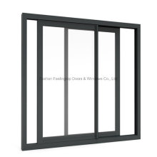 China Manufactured Aluminium Metal Sliding Window with Optional Screen (FT-W80/126)