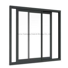 Китай изготовил окна раздвижной алюминий металл с дополнительным экраном (фут-W80/126)