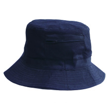 Promotion 100%cotton twill black color wide brim Bucket Hat outdoor boonie Fishing Hats