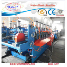 Linha de produção do molde da construção da máquina WPC da placa da espuma da crosta do PVC