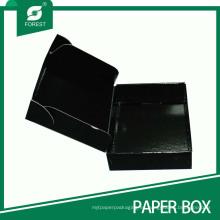 Caja de envío negra personalizada de fábrica más popular