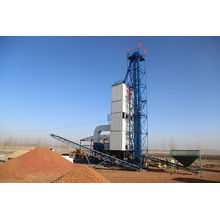 Secador de grãos de torre de queimador a gás diesel