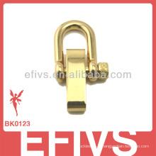 Chaussure réglable en acier inoxydable doré à la mode de la nouvelle mode 2013 pour bracelet paracord
