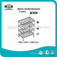 Loja de armazenamento de metal multifunções com melhor venda / rack de metal de cozinha