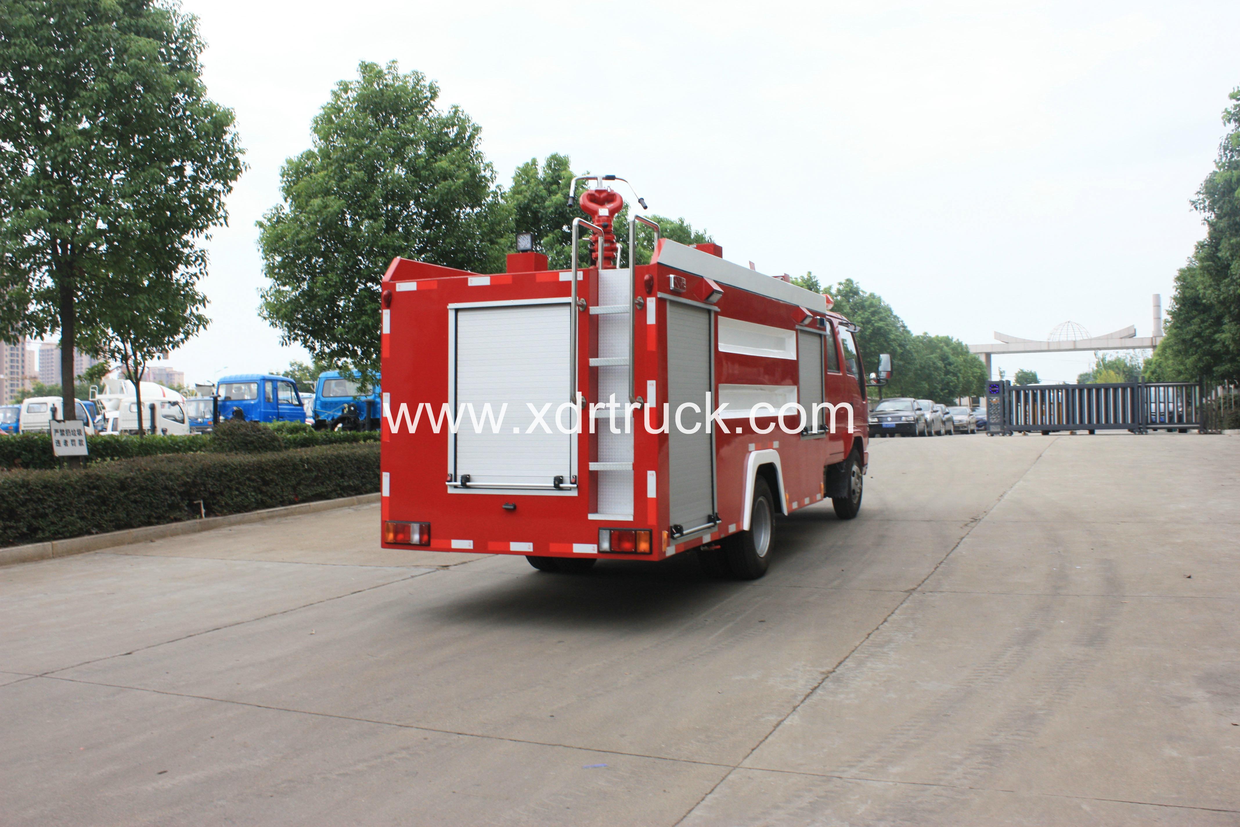 ISUZU 600P FOAM FIRE TRUCK 4TON 11  (8)