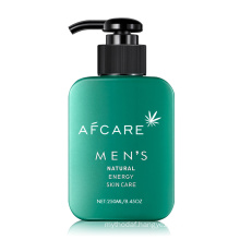 OEM Your Brand Low Price Rich Foaming Oil Control Deep Cleansing Refreshing Bamboo Charcoal Facial Cleanser for Men