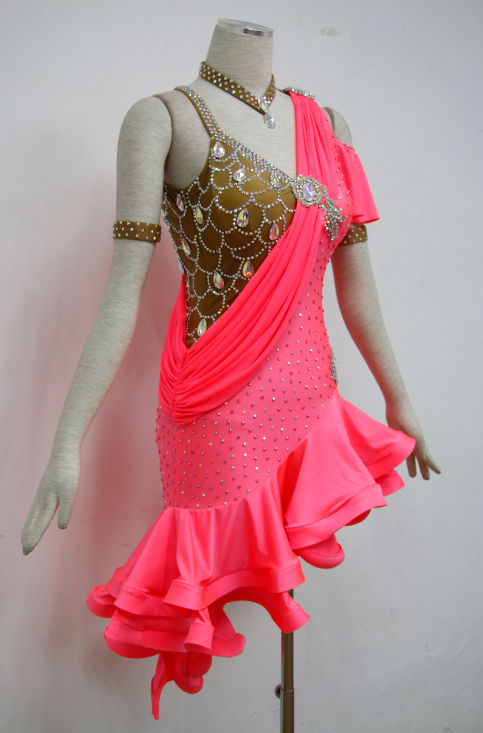 Salsa Costumes For Competition For Girls