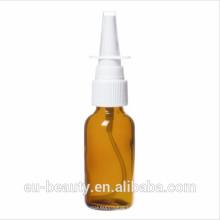 Носовой винтовой насос с бутылками из янтарного стекла 2 OZ