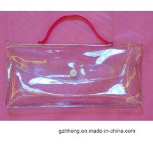 Высокое качество печатных встать одежды обновления многоразовых пластиковых молнии сумка (OEM)