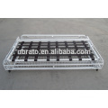 white painted metal sofa bed frame