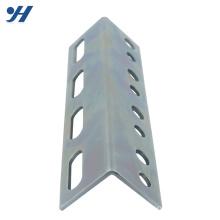 Spécifications de fer d'angle enduit de poudre perforée galvanisée laminée à froid