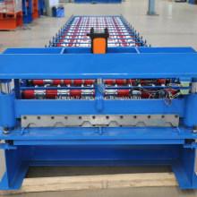machine partale pour la fabrication de tôles de toiture en acier zinc