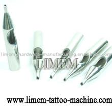Ponta de aço inoxidável da tatuagem