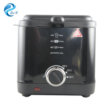 OEM latest 1.5 liter home use adjustable thermostat control eletric deep fryer for wholesale