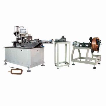 Enrollamiento automático completo de la bobina de campo magnético que forma la máquina