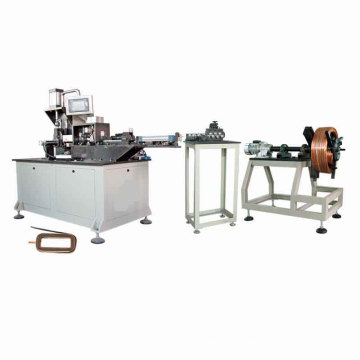 Full Automatic Magnetic Field Coil Winding Shaping Machine
