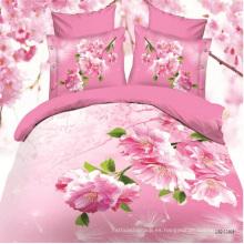 Fantástica ropa de cama Funda de almohada Funda de cama de impresión digital 3D
