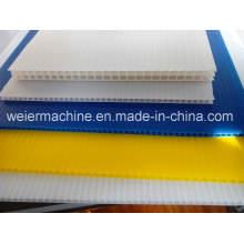 1300mm Width of PP PC Hollow Grid Board Sheet Machine