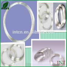 professional manufacturer for high purity gauge 12 pure silver wire