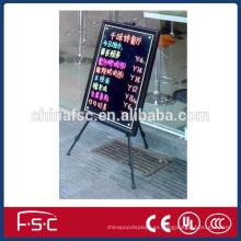 Declarar el tablero de escritura de la tarjeta electrónica fluorescente led información