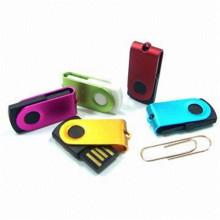 Mini Metal Swivel USB Flash Drive für Werbeartikel (EP021)