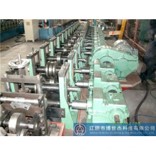 Galvabond Steel Material Electric Unistrut C Channel Roll Forming Machine Qatar