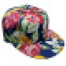 Bonnet de baseball en tissu floral avec Snapback Sb1595