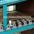 Schälfurnier-Schneidemaschine