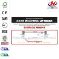 Meridian Copper Surface Mount Outswing Steel Security Doo