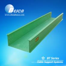 Bandeja de rejilla portacable fabricante FRP chemin de câbles (fibra de vidrio)
