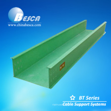 Лоток решетки portacable производитель FRP cable tray (стекловолокно)