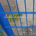 2018 hot sell products 868 welded wire mesh fence double wire fence / 656 welded fence with factory price