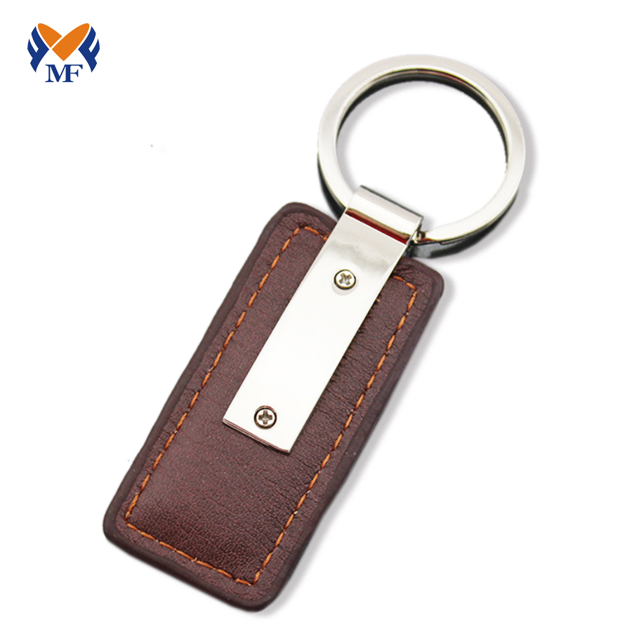 Leather Keychain Fob