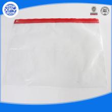 Printed PVC  Slider Plastic Bag
