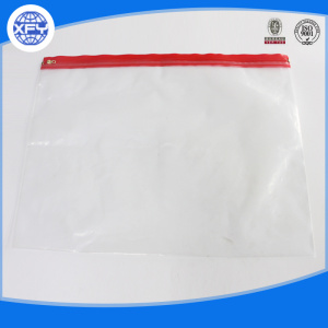 Printed PVC  Slider Plastic Bag