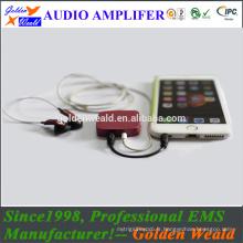 professional power amplifier headphone amplifier rechargeable battery amplifier