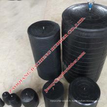 Bouchon de tuyau en caoutchouc de vente chaud pour la fuite d'essai