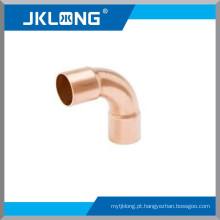 J9014 encaixe de cobre Cotovelo de 90 graus, cotovelo da rua longa, encaixes da tubulação