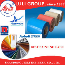 Luli Group Tanzania Algeria SGCC Color Coated Galvanized Corrugated Waved Roofing Sheet