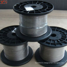 high quality stainless steel wire rope