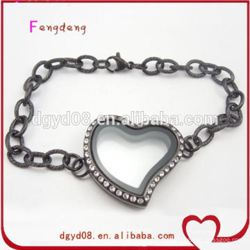 Bracelet de chaîne de charme en acier inoxydable 2015