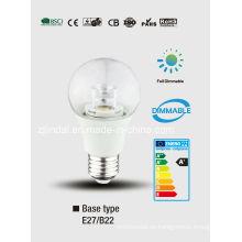 Cristal regulable de LED bulbo A60-T