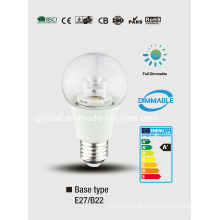 Dimmable LED cristal bulbo A60-T
